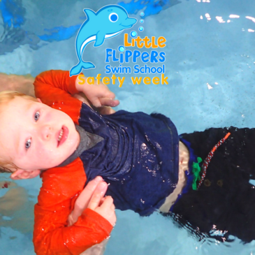 Swim Safety Week at Little Flippers